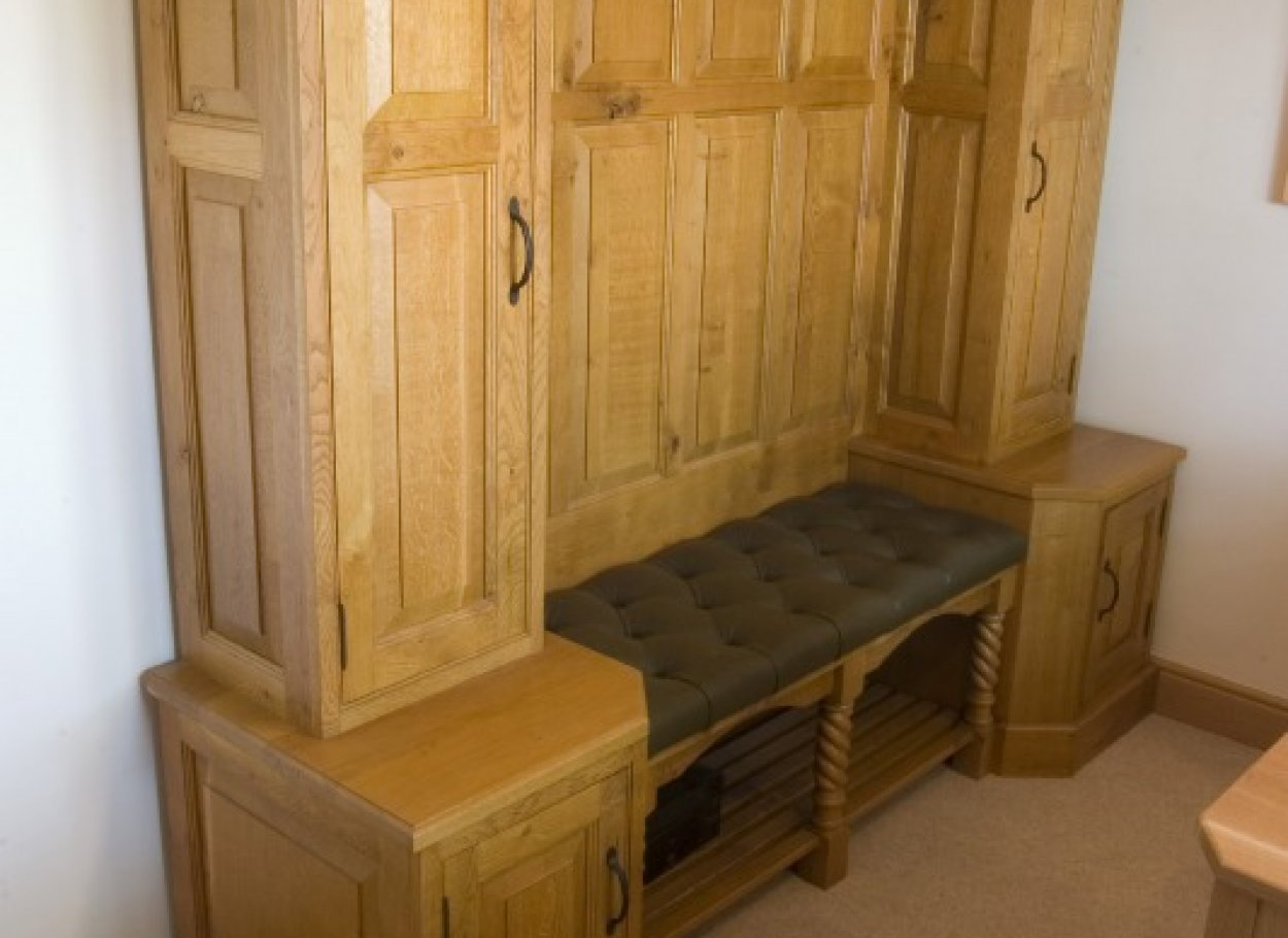 Bespoke Oak Seating